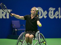 19-12-13,Netherlands, Rotterdam,  Topsportcentrum, Tennis Masters,  Rob Aarts (NED)<br /> Photo: Henk Koster