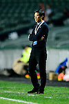FC Kitchee Head Coach Chu Chi Kwong during the AFC Champions League 2017 Preliminary Stage match between  Kitchee SC (HKG) vs Hanoi FC (VIE) at the Hong Kong Stadium on 25 January 2017 in Hong Kong, Hong Kong. Photo by Marcio Rodrigo Machado/Power Sport Images