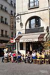 Europa, Frankreich, France, Paris, Marais, Restaurant Le Paradis , 10.09.2014