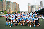 Irish Vikings team poses for a photograph during GFI HKFC Rugby Tens 2016 on 06 April 2016 at Hong Kong Football Club in Hong Kong, China. Photo by Juan Manuel Serrano / Power Sport Images
