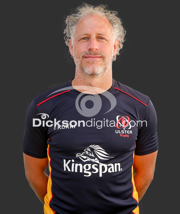 Tuesday 24th August 2021<br /> <br /> Simon Harland - Ulster Rugby Physio<br /> <br /> Ulster Rugby Head Shots at Kingspan Stadium, Ravenhill Park, Belfast, Northern Ireland. Photo by John Dickson/Dicksondigital