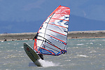 NELSON, NEW ZEALAND - DECEMBER 28: Wind & Kite Surfing Saturday 28 December 2019 , New Zealand. (Photo byEvan Barnes/ Shuttersport Limited)