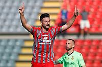 Cremona 02/10/2021 - campionato di calcio serie B / Cremonese-Ternana / photo Image Sport/Insidefoto<br /> nella foto: esultanza gol Samuel Di Carmine