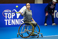 Alphen aan den Rijn, Netherlands, December 18, 2019, TV Nieuwe Sloot,  NK Tennis, Wheelchair woman's, 	<br /> Jiske Griffioen (NED)<br /> Photo: www.tennisimages.com/Henk Koster