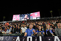 Carson, CA - Sunday January 28, 2018: Fans during an international friendly between the men's national teams of the United States (USA) and Bosnia and Herzegovina (BIH) at the StubHub Center.