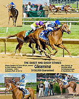 Gleaming winning The Sweet and Sassy Stakes at Delaware Park on 6/23/12