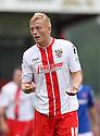 Jordan Burrow of Stevenage<br />  - Stevenage v Carlisle Untied - Sky Bet League 1 - Lamex Stadium, Stevenage - 21st September, 2013<br />  © Kevin Coleman 2013