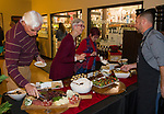 """A photograph taken during the Reno Magazine """"Bubbles Tasting"""" event at Total Wine in Reno on Friday night, February 9, 2018."""