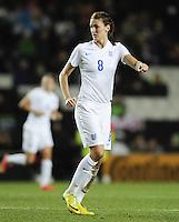 Milton Keynes, England - Friday, February 13, 2015: The USWNT defeated England 1-0 in an international friendly at Stadium MK.