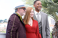 """Pedro ALMOD""""VAR - Will SMITH - Jessica CHASTAIN - CANNES 2017 - PHOTOCALL DU JURY"""