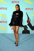 LOS ANGELES, CA - OCTOBER 13: Regina King, at the Special Screening Of The Harder They Fall at The Shrine in Los Angeles, California on October 13, 2021. Credit: Faye Sadou/MediaPunch
