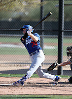 Logan Landon - Los Angeles Dodgers 2018 spring training (Bill Mitchell)