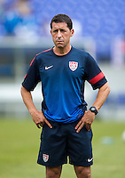 Tab Ramos.  The United States defeated El Salvador, 5-1, during the quarterfinals of the CONCACAF Gold Cup at M&T Bank Stadium in Baltimore, MD.