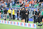 The Hague, Netherlands, June 10: After the field hockey group match (Men - Group B) between New Zealand and The Netherlands on June 10, 2014 during the World Cup 2014 at Kyocera Stadium in The Hague, Netherlands. Final score 1-1 (0-1) (Photo by Dirk Markgraf / www.265-images.com) *** Local caption ***