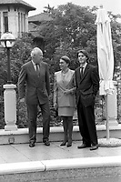 Monarchia e famiglia Savoia, Vittorio Emanuele con  Marina Doria e Emanuele Filiberto, 1997  e 2000