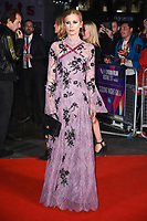 """Laura Bailey<br /> arriving for the London Film Festival 2017 closing gala of """"Three Billboards"""" at Odeon Leicester Square, London<br /> <br /> <br /> ©Ash Knotek  D3337  15/10/2017"""