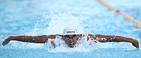 Nuoto 55 Settecolli trophy Foro Italico, Rome on June 29, 2018.<br /> Swimmer Chad Le Clos, of South Africa, competes in the men's 100 meters butterfly at the Settecolli swimming trophy in Rome, on 29 June, 2018.<br /> UPDATE IMAGES PRESS/Isabella Bonotto
