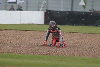 Scott Redding crash during the 2021 UK Round of the MOTUL FIM Superbike World Championship (WSB) at Donington Park GP Race Circuit, Donington Park GP, England on the 2-4 July 2021. Photo by Ian Hopgood.