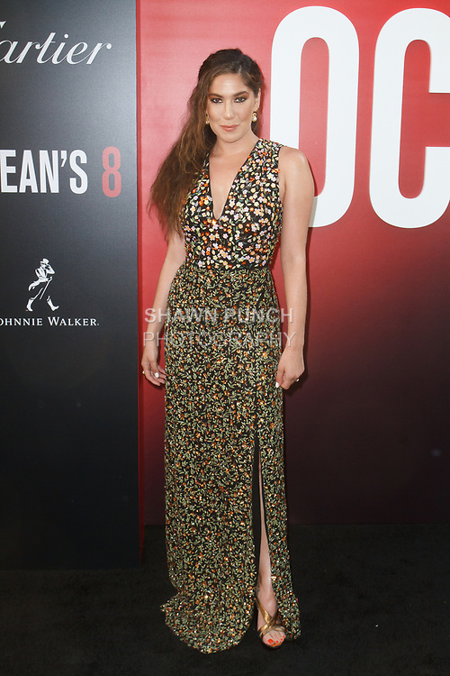 arrives at the World Premiere of Ocean's 8 at Alice Tully Hall in New York City, on June 5, 2018.