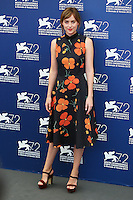 Dakota Johnson attends a photocall for the movie 'A Bigger Splash' during the 72nd Venice Film Festival at the Palazzo Del Cinema in Venice, Italy, September 6, 2015. <br /> UPDATE IMAGES PRESS/Stephen Richie