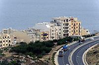 Häuser an der St. Paul's Bay, Malta, Europa