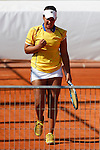 Colombian tennis player Sofia Munera during Tennis Junior Fed Cup in Madrid, Spain. September 30, 2015. (ALTERPHOTOS/Victor Blanco)