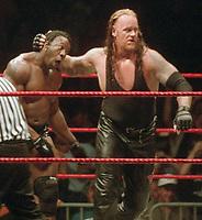 Booker T Undertaker 1999                                                   Photo by  John Barrett/PHOTOlink