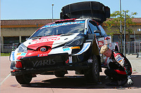 23rd May 2021; Felgueiras, Porto, Portugal; WRC Rally of Portugal, stages SS16-SS20;  Kalle Rovenpera-Toyota Yaris WRC