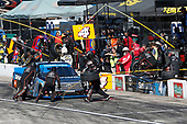 NASCAR Camping World Truck Series<br /> UNOH 175 <br /> New Hampshire Motor Speedway<br /> Loudon, NH USA<br /> Saturday 23 September 2017<br /> Christopher Bell, SiriusXM Toyota Tundra pit stop<br /> World Copyright: Matthew T. Thacker<br /> LAT Images