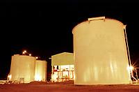 Parte industrial da Pará Pigmentos, CVRD-Companhia Vale do Rio Doce.<br />Barcarena - Pará-Brasil.<br />2000<br />©Foto: Paulo Santos/ Interfoto