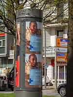 Kreuzung Falkenried / Breitenfelder Str..  in Hamburg-Hoheluft-Ost, Deutschland, Europa<br /> crossroads Falkenried / Breitenfelder St. in Hamburg-Hoheluft-Ost, Germany, Europe