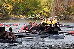 Rowing, Charles River, Cambridge, Boston, University of Georgia Women's Crew, Collegiate Eights women, 2006 Head of the Charles Regatta, Massachusetts, USA,
