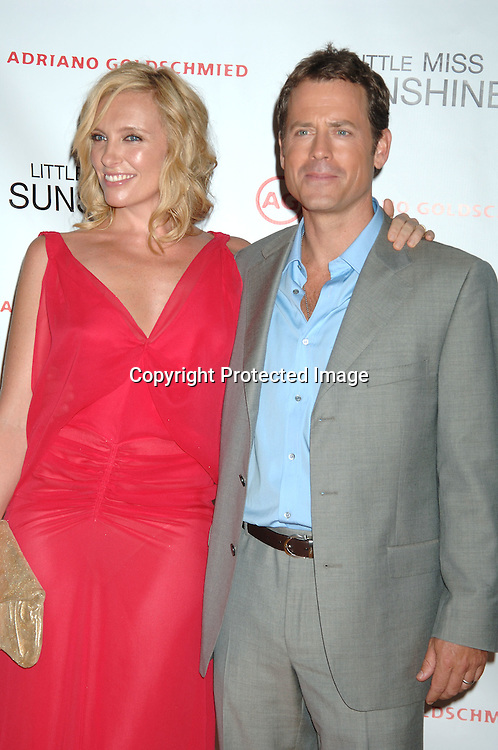 """Greg Kinnear and Toni Collette..at The New York Premiere of """"Little Miss Sunshine"""" starring ..Greg Kinnear, Toni Collette and Abigail Breslin on July 25, 2006 at The AMC LoewsLincoln Theatre. ..Robin Platzer, Twin Images"""