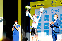 3rd September 2020; Le Teil to Mont Aigoual , France. Tour de France cycling tour, stage 6; Uae - Emirates Pogacar, Tadej Mont Aigoual