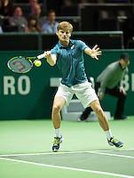 Rotterdam, The Netherlands, Februari 9, 2016,  ABNAMROWTT, David Goffin (BEL)<br /> Photo: Tennisimages/Henk Koster