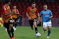 Artur Ionita of Benevento Calcio and Stanislav Lobotka of SSC Napoli compete for the ball<br /> during the Serie A football match between Benevento Calcio and SSC Napoli at stadio Ciro Vigorito in Benevento (Italy), October 25th, 2020. <br /> Photo Cesare Purini / Insidefoto
