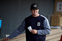 Erie SeaWolves Casey Mize (32) before an Eastern League game against the Akron RubberDucks on August 30, 2019 at Canal Park in Akron, Ohio.  Erie defeated Akron 3-2.  (Mike Janes/Four Seam Images)