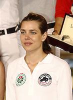 Charlotte Casiraghi durant le Longines proAm Cup Monaco dans le cadre du Jumping International de Monte Carlo 2016 le 24 juin 2016.