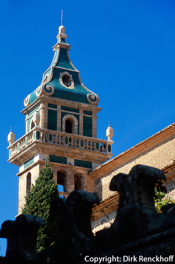 Spanien, Mallorca, Sa Cartoixa ( Kartause) in Valldemosa