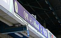 Full time scoreboard during Queens Park Rangers vs Millwall, Sky Bet EFL Championship Football at Loftus Road Stadium on 18th July 2020