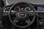 Steering wheel view of a 2014 Audi A4 AMBITION LUXE 5 Door Wagon 2WD