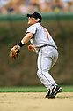 CHICAGO - CIRCA 2000:  Craig Biggio #7 of the Houston Astros fields during an MLB game at Wrigley Field in Chicago, Illinois. Biggio played for 20 seasons, all with the Houston Astros, was a 7-time All-Star and was inducted to the Baseball Hall of Fame in 2015.(David Durochik / SportPics) --Craig Biggio