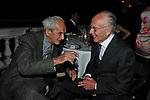 OTTAVIO MISSONI CON MASSIMO DELL'OMO<br /> PREMIO GUIDO CARLI - TERZA  EDIZIONE<br /> PALAZZO DI MONTECITORIO - SALA DELLA LUPA<br /> CON RICEVIMENTO  HOTEL MAJESTIC   ROMA 2012