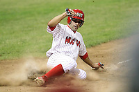 July 8th, 2007:  Will Groff of the Batavia Muckdogs, Short-Season Class-A affiliate of the St. Louis Cardinals at Dwyer Stadium in Batavia, NY.  Photo by:  Mike Janes/Four Seam Images