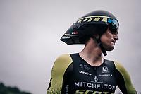 Roman Kreuziger (CZE/Mitchelton Scott) post-finish<br /> <br /> stage 16: Trento – Rovereto iTT (34.2 km)<br /> 101th Giro d'Italia 2018