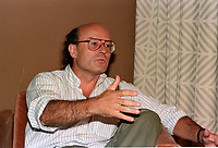 August 31, 1987 File Photo - Montreal (Qc) Canada - German filmmaker Volker Schlondorff at the 1987 World Film Festival