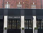 Exterior, Tom Aikins Restaurant, Knightsbridge, London, Great Britain, Europe