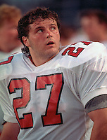 Tony Spoletini Calgary Stampeders 1991. Photo Scott Grant