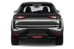 Straight rear view of 2021 Ds DS-3-Crossback Performance-Line 5 Door SUV Rear View  stock images