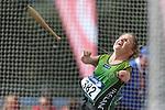 IPC European Athletics Championship 2014<br /> Catherine O'Neill (IRE)<br /> Women's Club Throw F32/51<br /> Swansea University<br /> <br /> 21.08.14<br /> ©Steve Pope-SPORTINGWALES